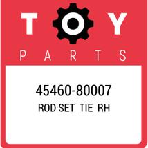 45460-80007 Toyota Rod Set Tie Rh, New Genuine OEM Part - $106.91