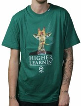 LRG Higher Learnin Black or Forest Green Men's Graphic T-Shirt Small NWT image 2
