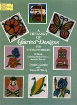 A Treasury Of Charted Designs For Needleworkers 141 Motifs Birds Flowers... - $5.95