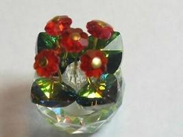 Swarovski red flower crystal - $26.80