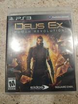 PlayStation 3 : Deus Ex: Human Revolution VideoGames - $5.85