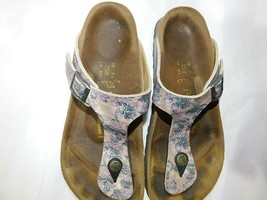 Papillio by Birkenstock Gizeh Paisley Thong Sandals size US 8 EUR 39 - $38.61
