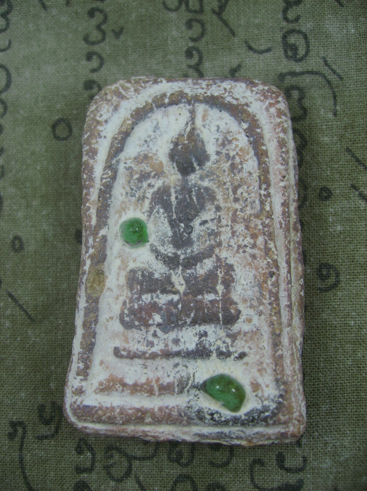 Primary image for HOLY BLESSED CLAY SOMDET PHRA TATH-NADUN 100 YEARS TOP RARE THAI BUDDHA AMULETS