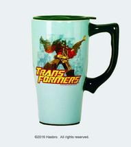 Transformers Optimus Prime Animation Figure 14 oz Ceramic Travel Mug, NE... - $14.46