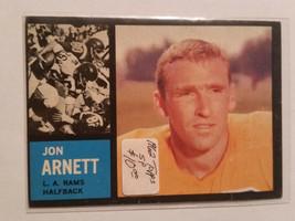 1962 Topps #78 Jon Arnett SP Team: Los Angeles Rams - $8.50