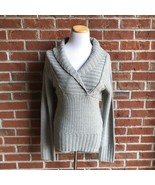 Junior's Sweater Project Chunky Long Sleeve Pullover - L - $16.48