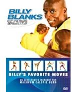 Billy Blanks - Tae Bo - Billy's Favorite Moves Dvd - $10.75