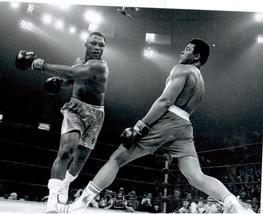 Muhammad Ali Joe Frazier 1971 Vintage 11X14 Matted BW Boxing Memorabilia... - $14.99
