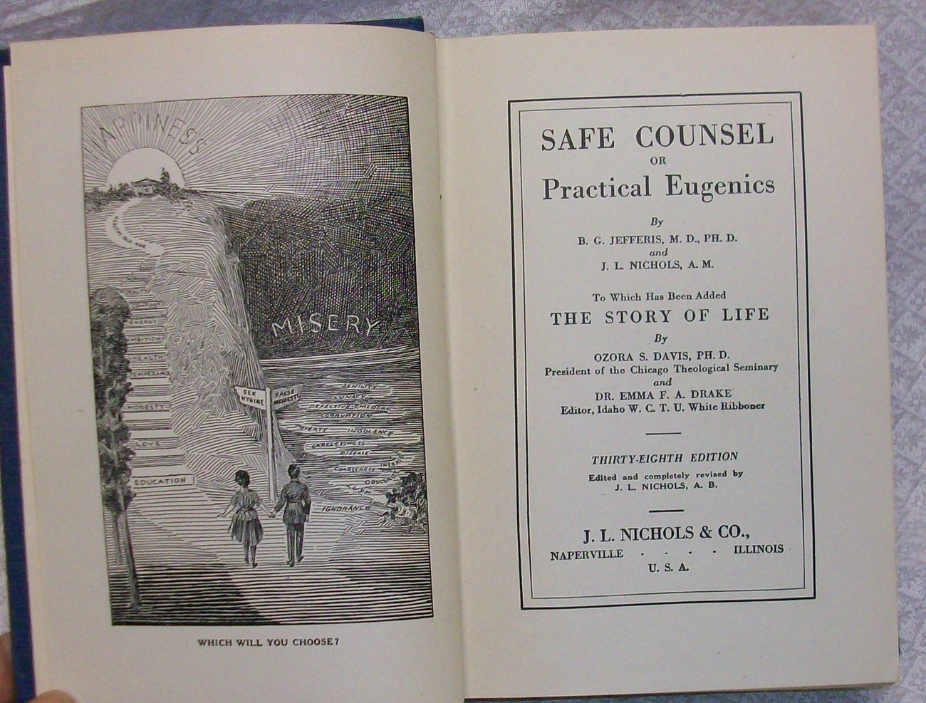 Safe Counsel or Practical Eugenics B.G. Jefferis