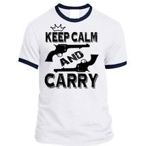 Keep Calm And Carry T Shirt, I Love Shooting T Shirt, Awesome T-Shirts - $23.99+