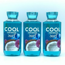 Bath and Body Works Cool Coconut Surf Shea and Vitamin E Shower Gel 10oz... - $33.96
