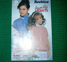 Patons, Beehive Family Knits Patterns Book No. 487 - $3.00