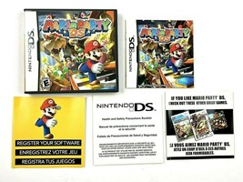 Mario Party Nintendo DS with Manual **BOX ONLY** NO GAME** - $7.95 CAD