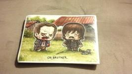 "Rare ""Oh, Brother"" Art Print SuperEmoFriends by JSalvador The Walking De... - $9.90"