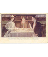 The Penobscot Inn Detriot Michigan 1907 Vintage Post Card - $7.00