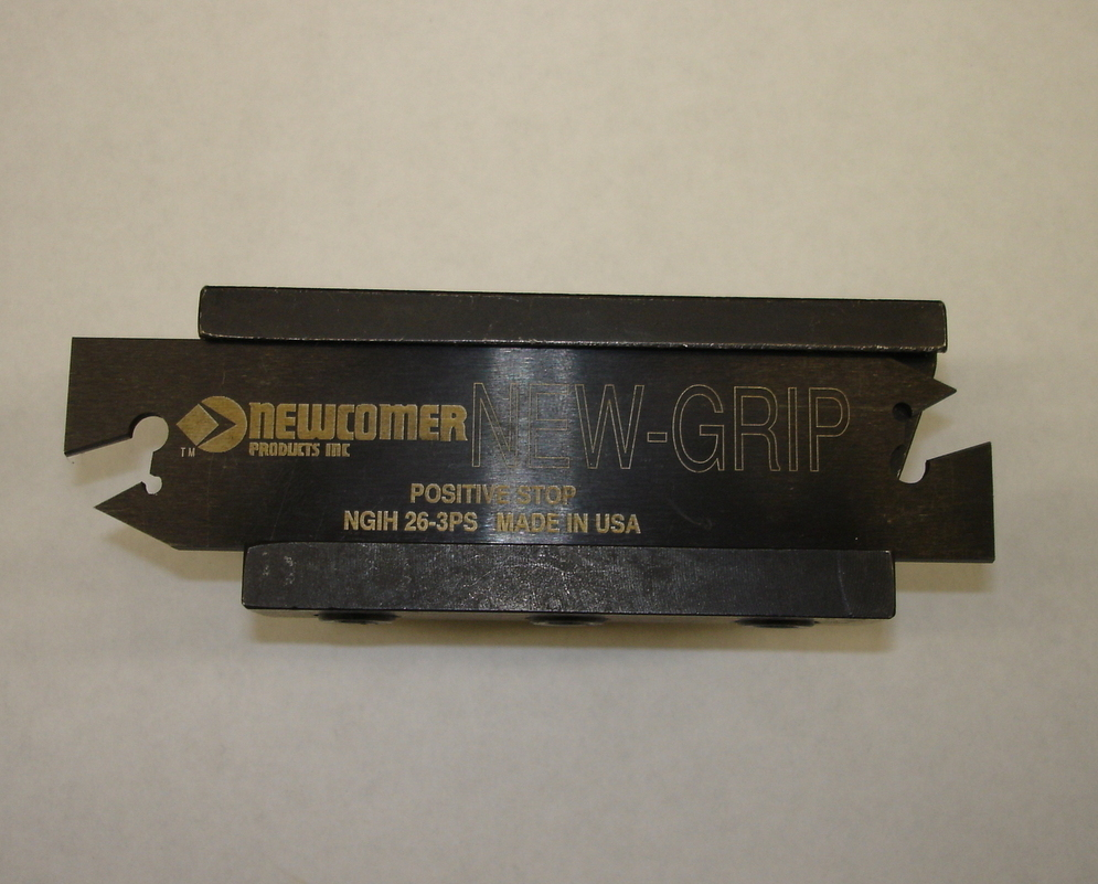 Newcomer Part-Off Blades & Tool Block