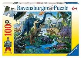 Ravensburger Land of The Giants - 100 Piece Puzzle - Dinosaurs T-Rex #10... - $12.59