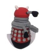 """DR WHO TALKING RED GRAY PLUSH DALEK 9"""" FIGURE BBC TV - $9.74"""