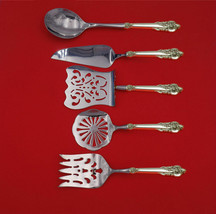 Grande Baroque by Wallace Sterling Silver Brunch Serving Set 5-Piece Custom Made - $359.00