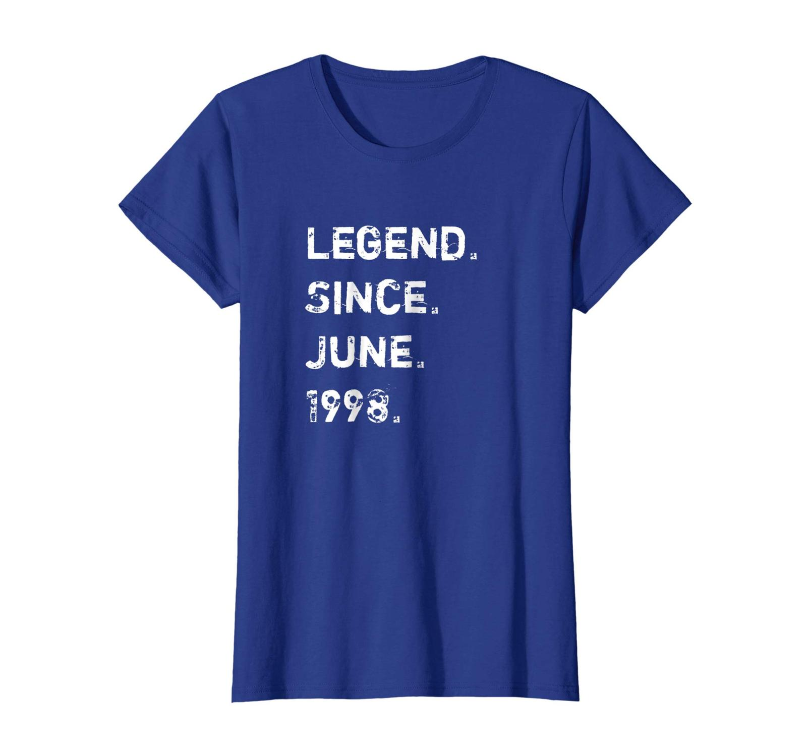 Brother Shirts - Legend Since June 1998 20 Years Old Birthday Gift Shirt Wowen image 4