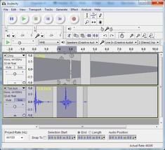 Audacity Multi-Track Audio Studio Editor Recorder Compare to Adobe Audit... - $5.99