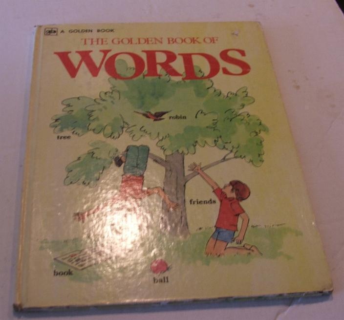 1974 The Golden Book of Words