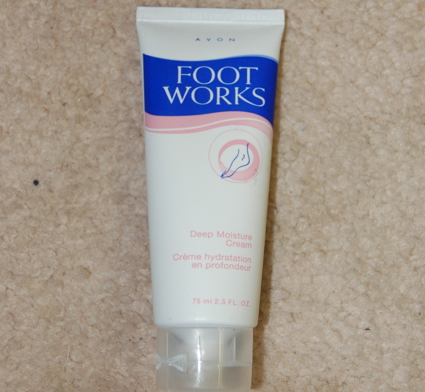 Avon Foot Cream Deep Moisture Footworks 2.5 fl oz New Bonanza