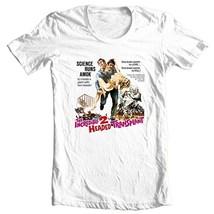 The Incredible 2 Headed Transplant T-shirt retro sci fi horror film B-Movie tee image 2