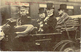 President William Taft Vintage 1912 Political Post Card  - $7.00