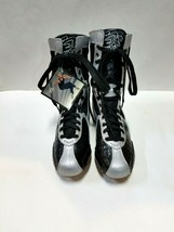 Hi-Top BF4 Adult Size 5M Black/Silver Dance Sneakers - $29.69