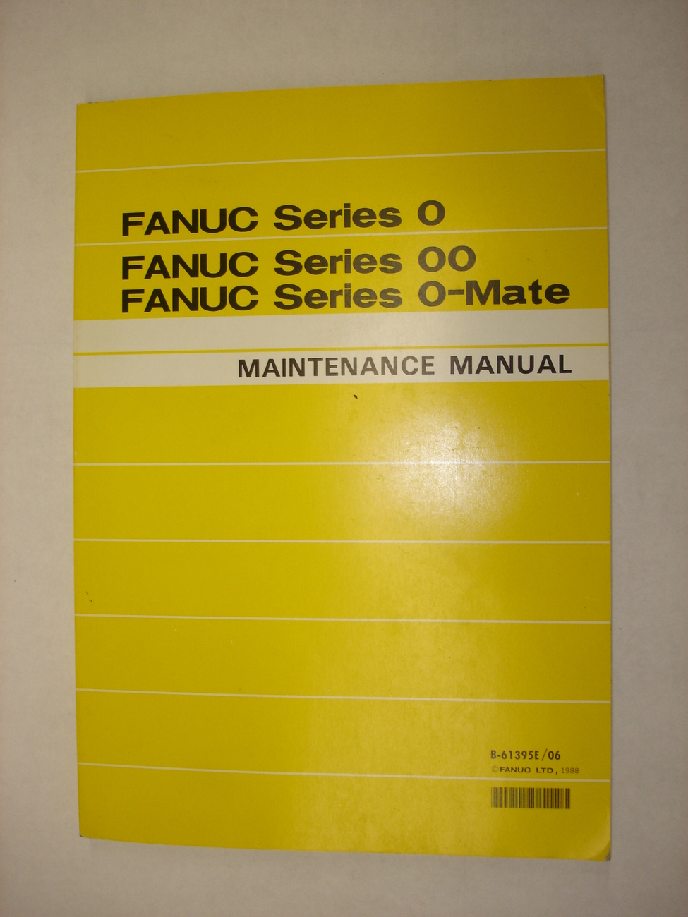 Fanuc Series 0 Maintenance Manual