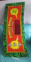 "Jungle Rama by Lazer-Tron Plexi Glass Arcade Video Game Marquee 50"" - $39.59"