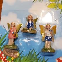"Fairy Figurines, set of 3, Fairy Garden Decor, Fairies Craft, Plastic 1-1.5"" image 5"