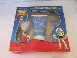 DISNEY PIXAR TOY STORY 2 PLAY SHAVE SET OLD STOCK NEW IN BOX H41 - $10.99