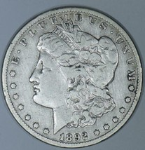 1892-CC Morgan Dollar; F-VF - $267.29