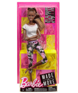 Barbie Made To Move Doll, Dark Hair - $22.99