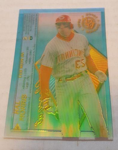 1995 Topps Stadium Club Clearcut #9 Hal Morris Cincinnati Reds Baseball Card