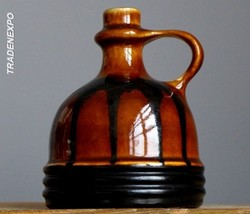 Vintage 60's VEB HALDENSLEBEN 4099 Dripping Vase E.German GDR Pottery Fa... - $19.79