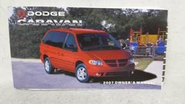2007 Dodge Caravan Owners Manual 53197 - $21.17