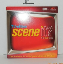 Screenlife TV edition Scene it DVD Board Game Replacement DVD - $9.50
