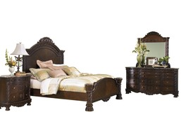 Ashley North Shore 4PC Bedroom Set Cal King Panel - Brown - $3,700.19