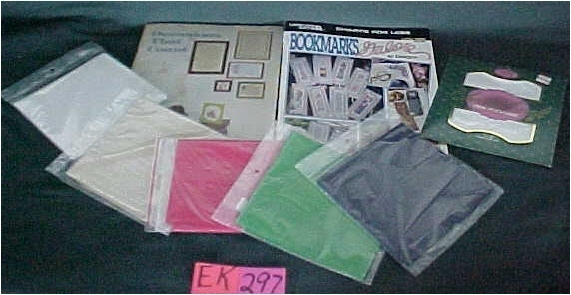 Patterns, Bookmarks, Counted Cross Stitch Books and Aida Cloth