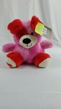 "Teddy Bear Stuffed Animal Fuzzy White 16"" Plush Pal With Red Heart Valen... - $4.99"