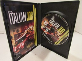 PLAYSTATION 2 THE ITALIAN JOB  VIDEO GAME DISC & CASE & MANUAL  PS2 - $5.65