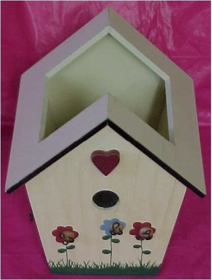 Birdhouse Planter Box