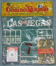 Vintage Casino Royale Table Layout Craps Blackjack NIP image 1