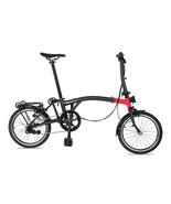 16 inch 349 for Brompton bike internal 3 speeds steel frame folding bike - $1,140.00