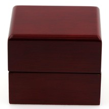 SETTING RING RED WOOD STYLE LUXURY - $36.28