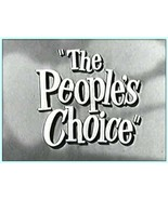 THE PEOPLE'S CHOICE (1955) 84 Episodes - $39.95