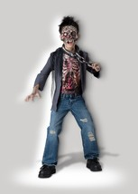 Incharacter Unchained Horror Scheletro Zombie Bambini Costume Halloween ... - $28.05